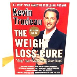 ☎️ SALE 3/$15 ☂️ The Weight Loss Cure Book